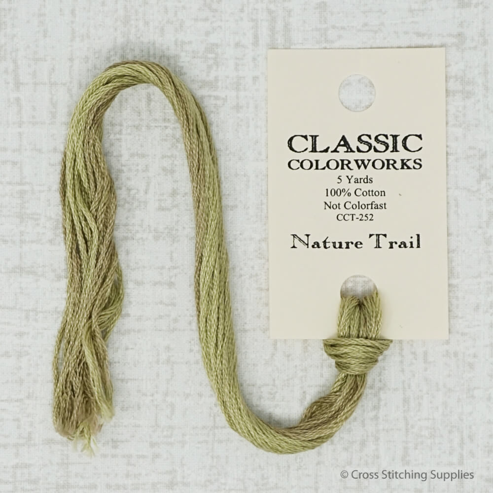 Nature Trail Classic Colorworks embroidery thread