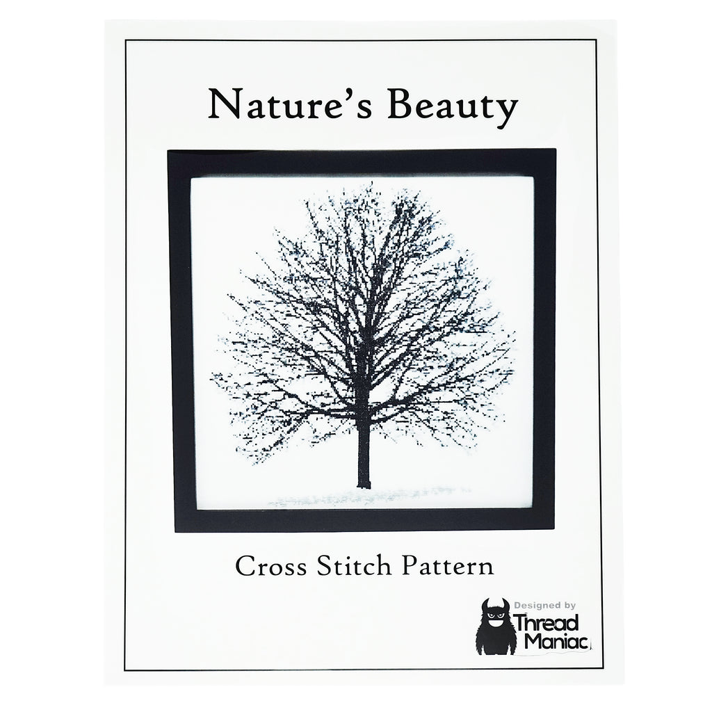 Nature's Beauty Cross Stitch Pattern | Thread Maniac Designs