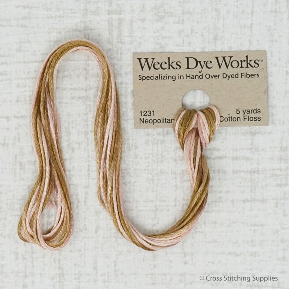 Neopolitan Weeks Dye Works embroidery thread