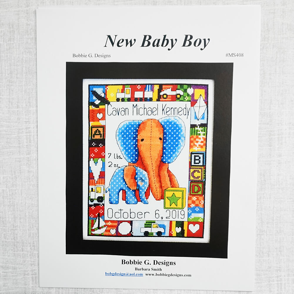 New Baby Boy pattern by Bobbie G Designs