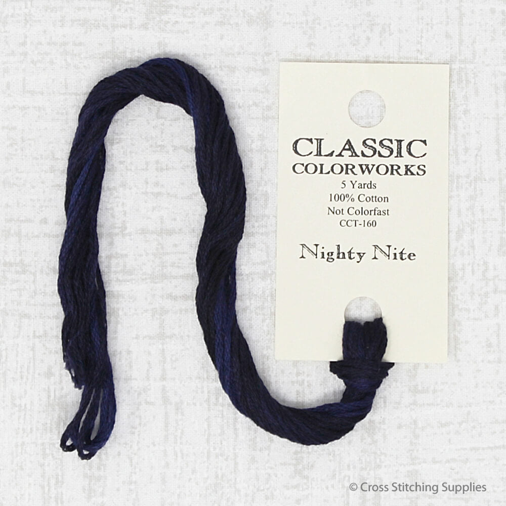 Nighty Nite Classic Colorworks embroidery thread