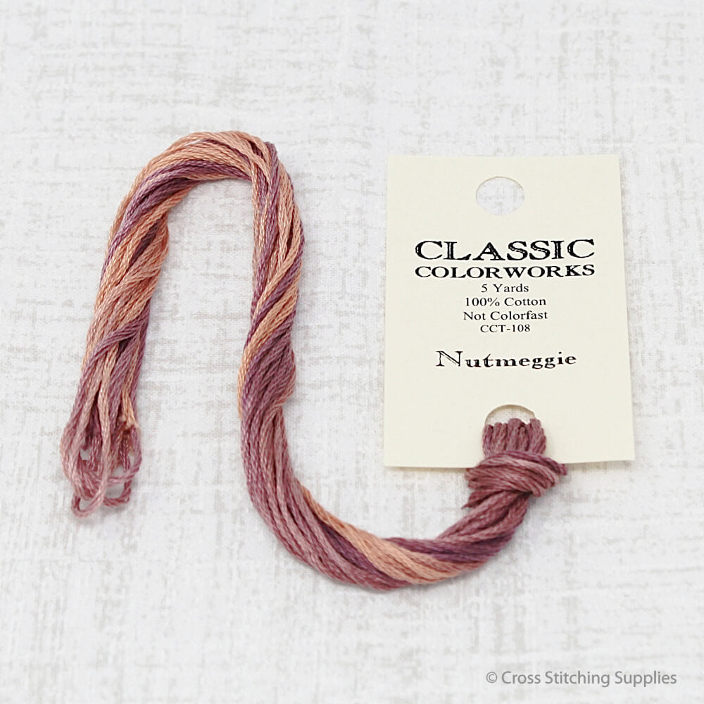Nutmeggie Classic Colorworks embroidery floss