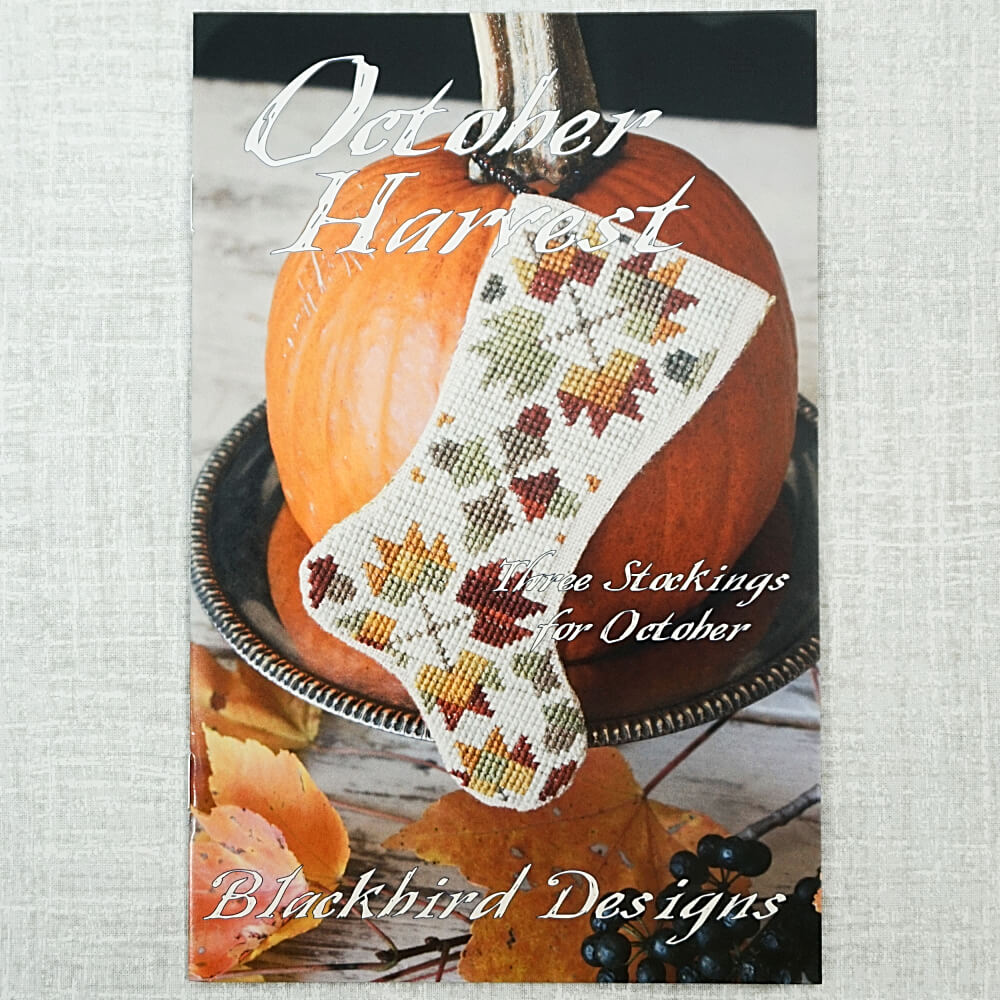 October Harvest cross stitch pattern cover