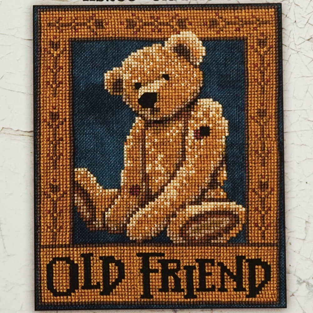 Old Friend counted cross stitch pattern
