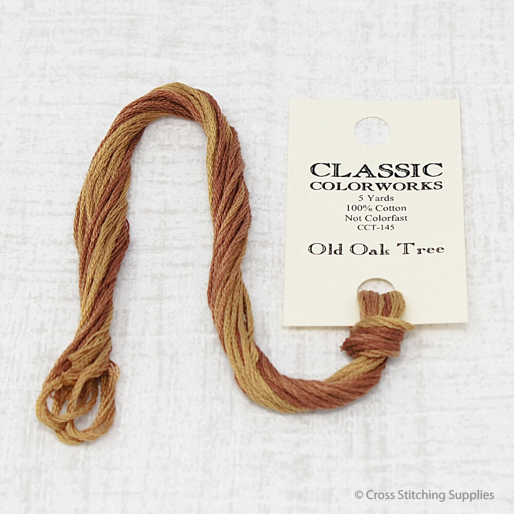 Old Oak Tree Classic Colorworks embroidery floss