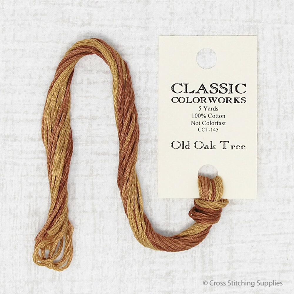Old Oak Tree Classic Colorworks  embroidery thread