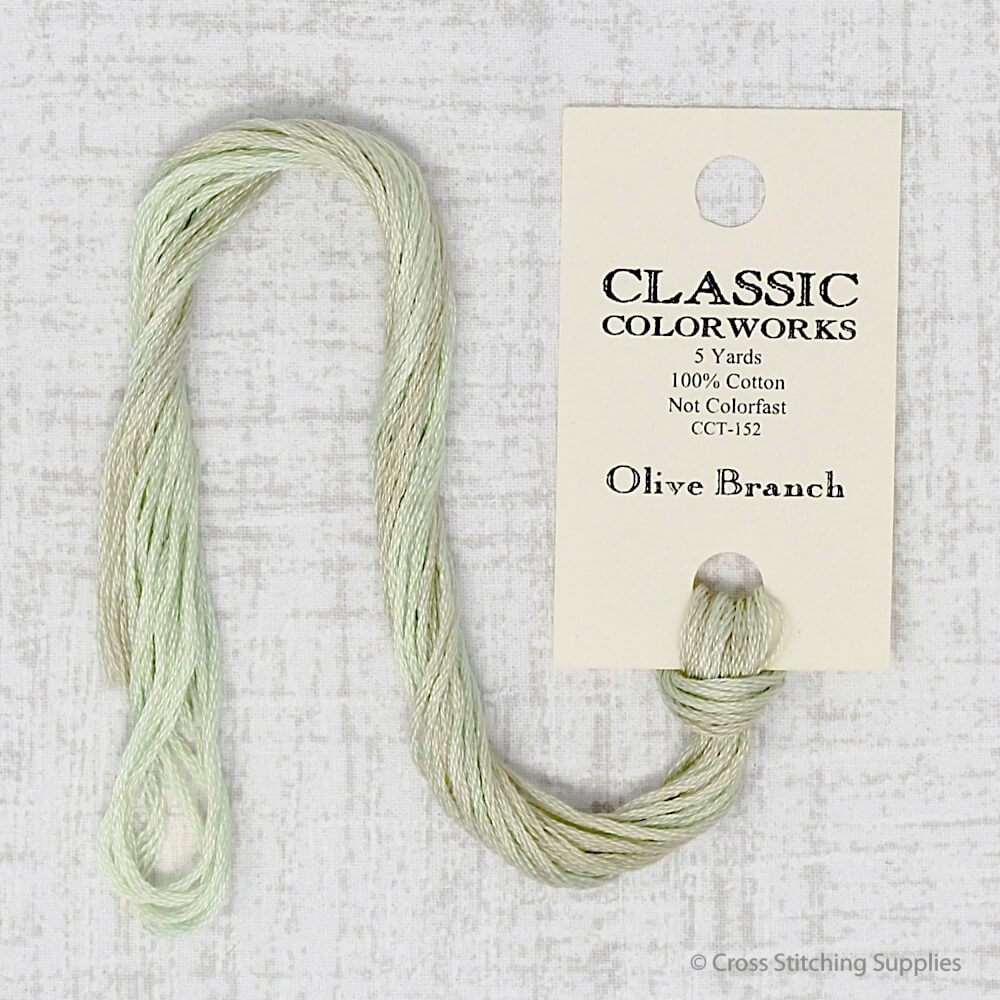 Olive Branch Classic Colorworks embroidery thread