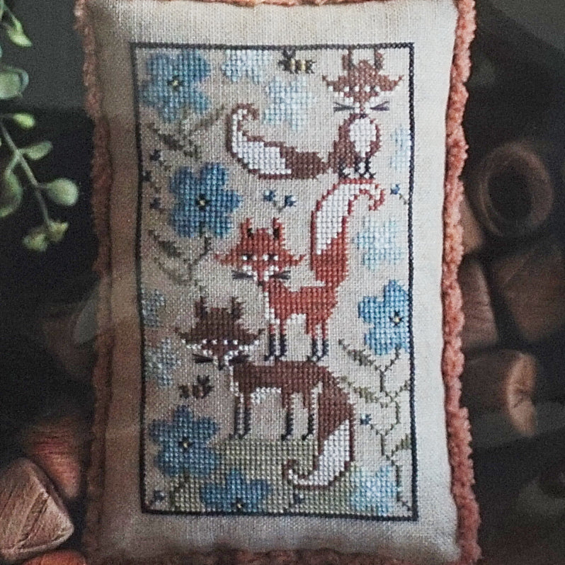 Fox Few counted cross stitch chart