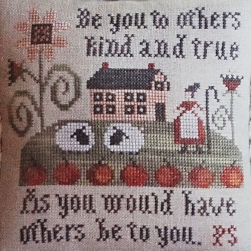 Serial Bowl Collections Lesson Four counted cross stitch chart