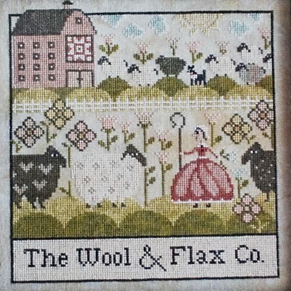 The Wool & Flax Co. counted cross stitch chart