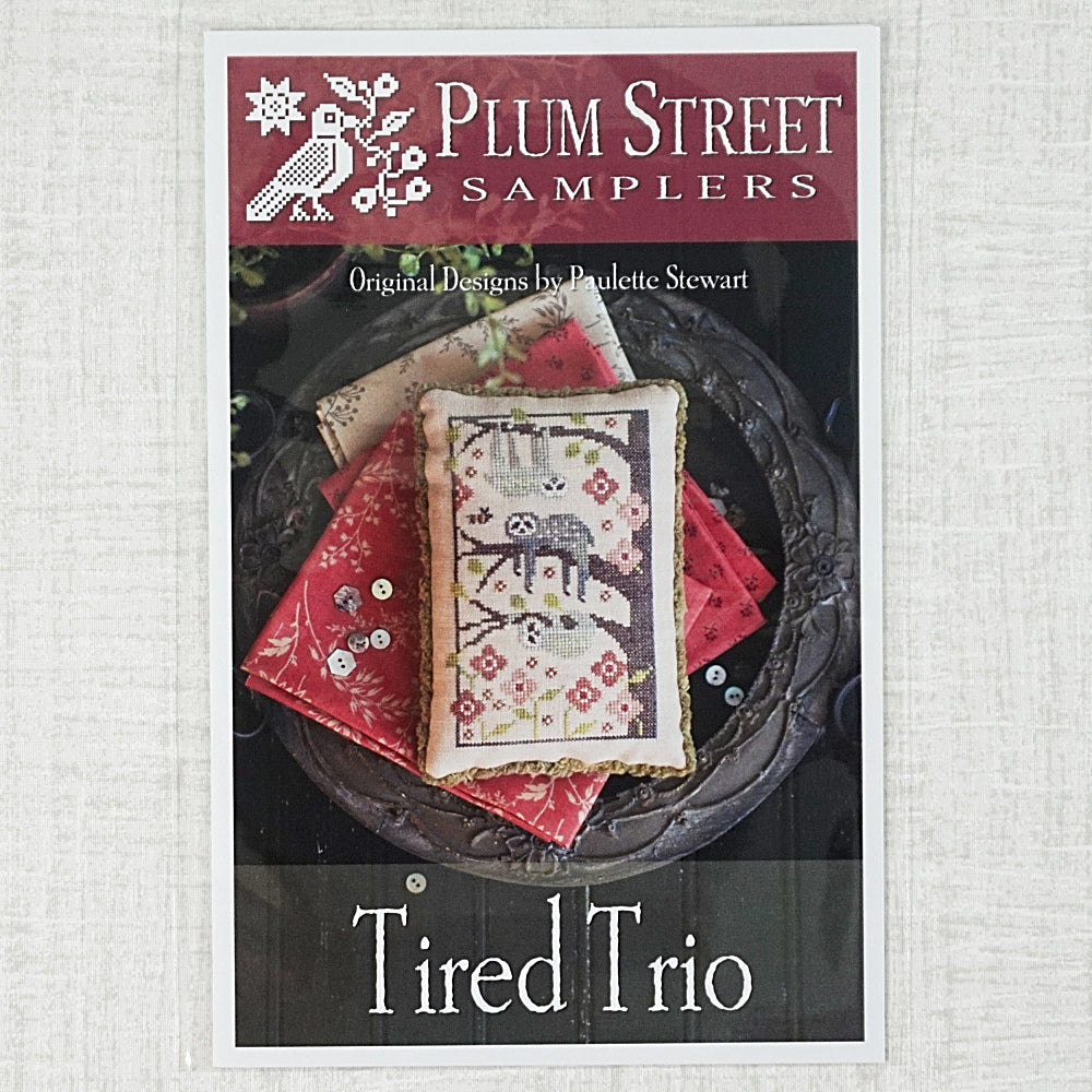 Tired Trio by Plum Street Samplers