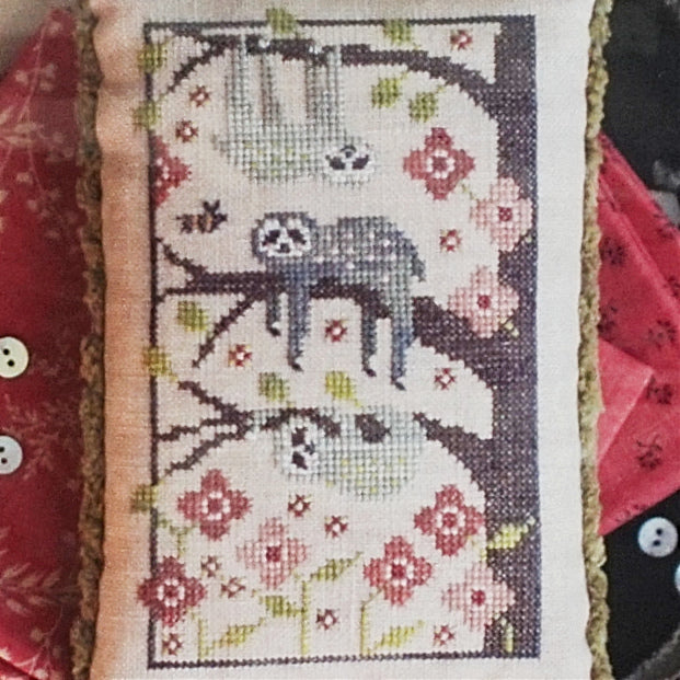 Sampler Lesson Four Cross Stitch Chart