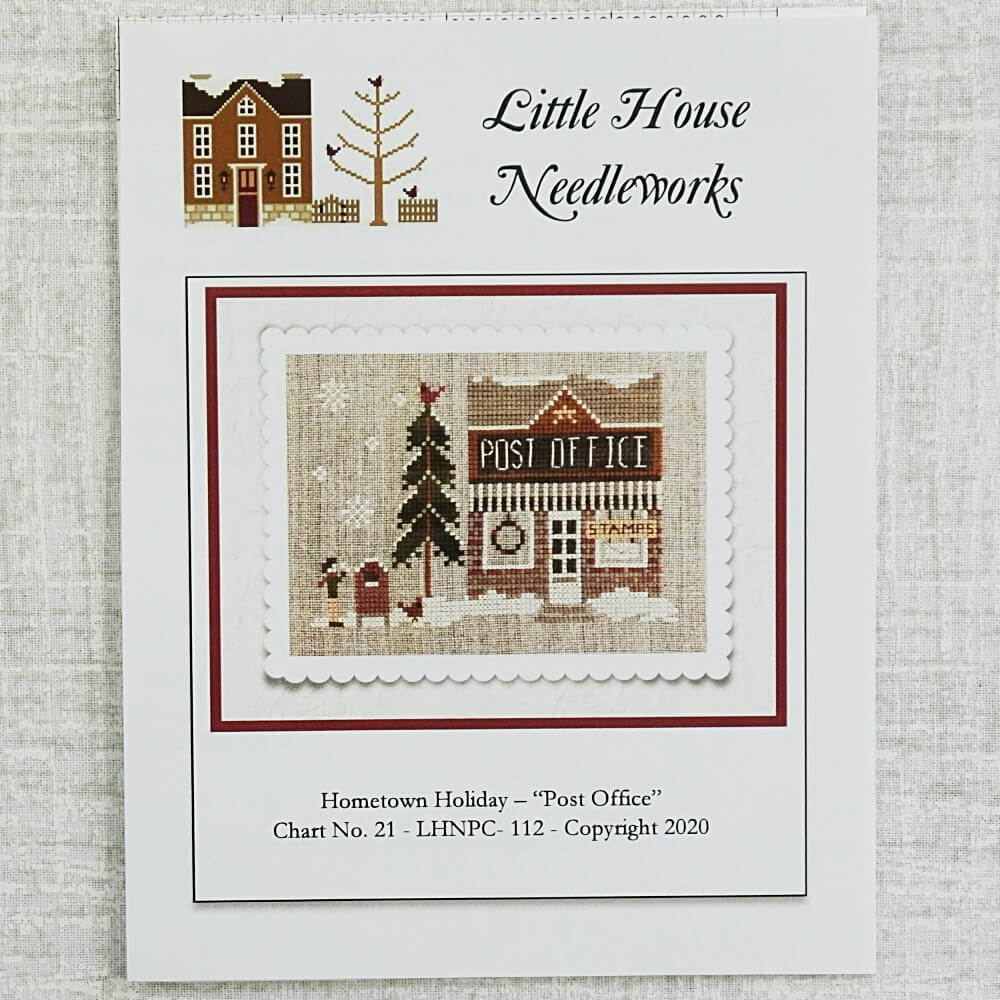Post Office Pattern by Little House Needleworks