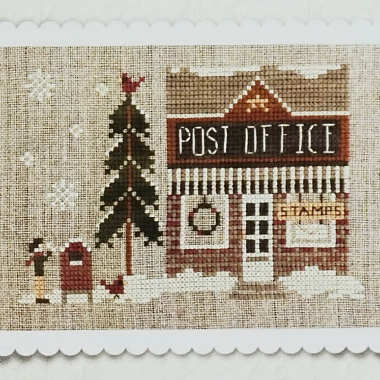 Post Office Counted Cross Stitch Pattern