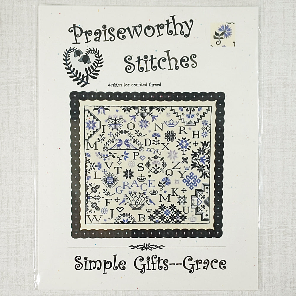 Simple Gifts Grace by Praiseworthy Stitches