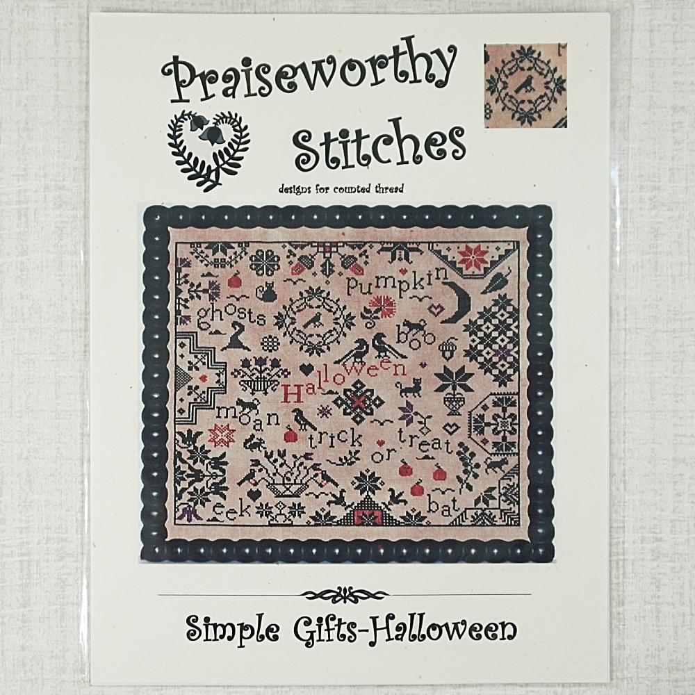 Simple Gift Halloween by Praiseworthy Stitches