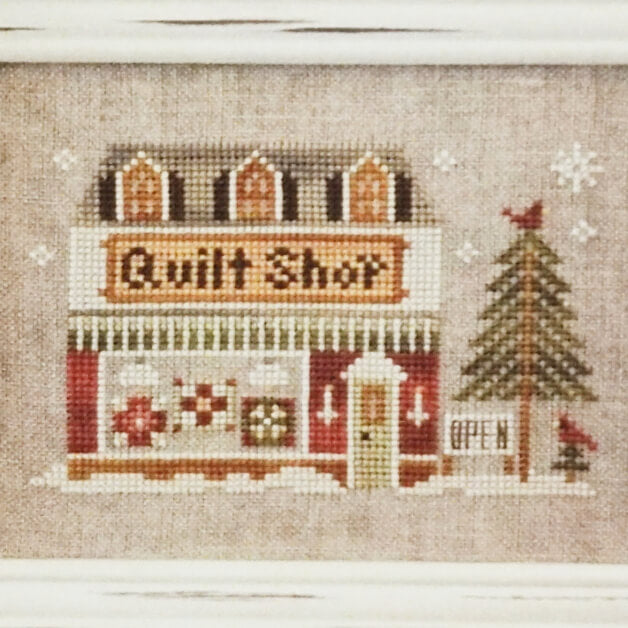 Quilt Shop counted cross stitch pattern