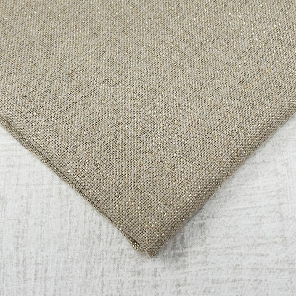 Raw with gold 32 count belfast linen from Zweigart
