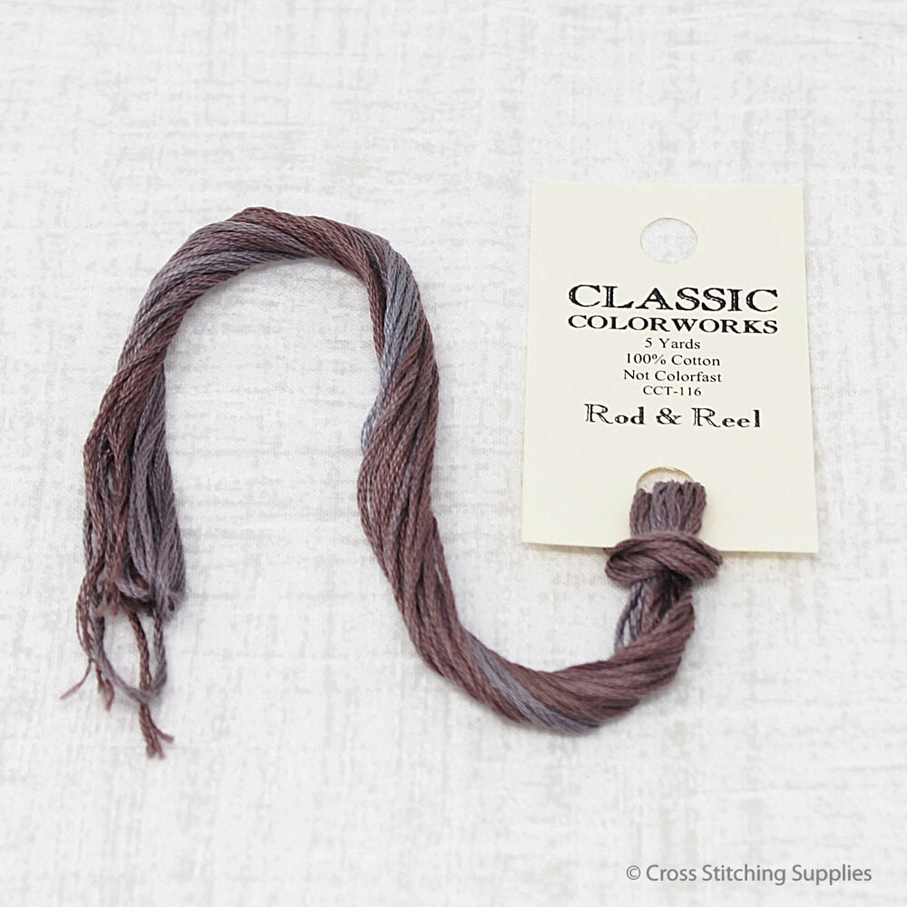 Rod & Reel Classic Colorworks embroidery floss