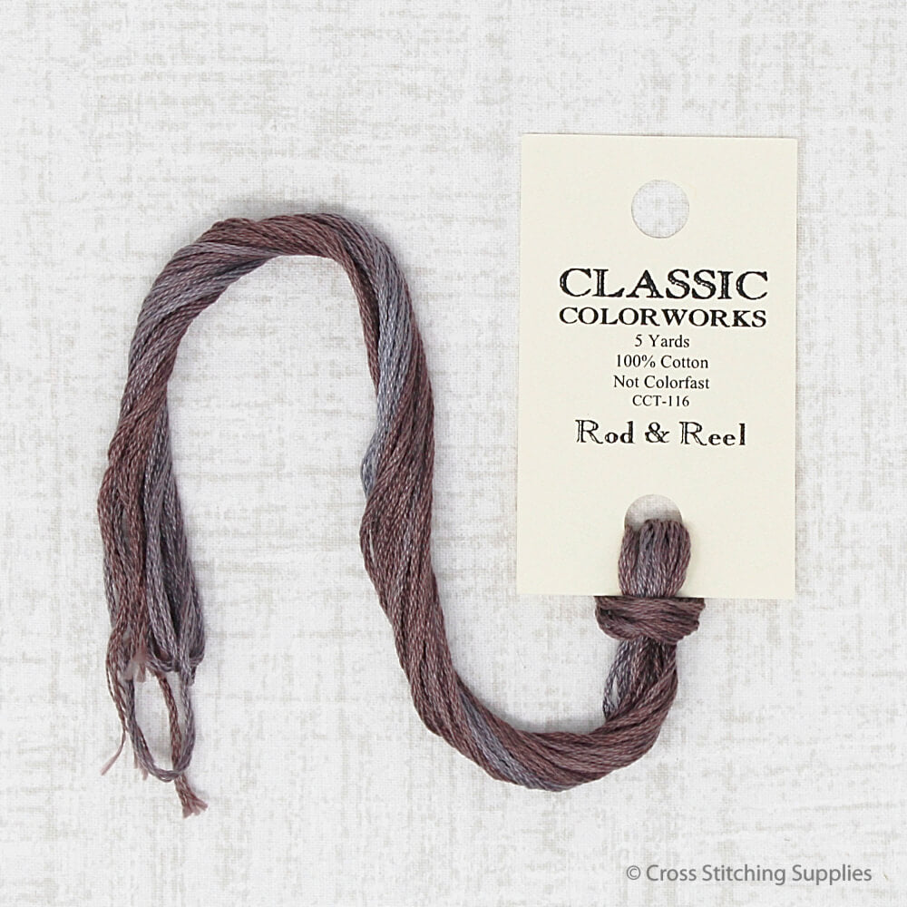 Rod & Reel Classic Colorworks embroidery thread