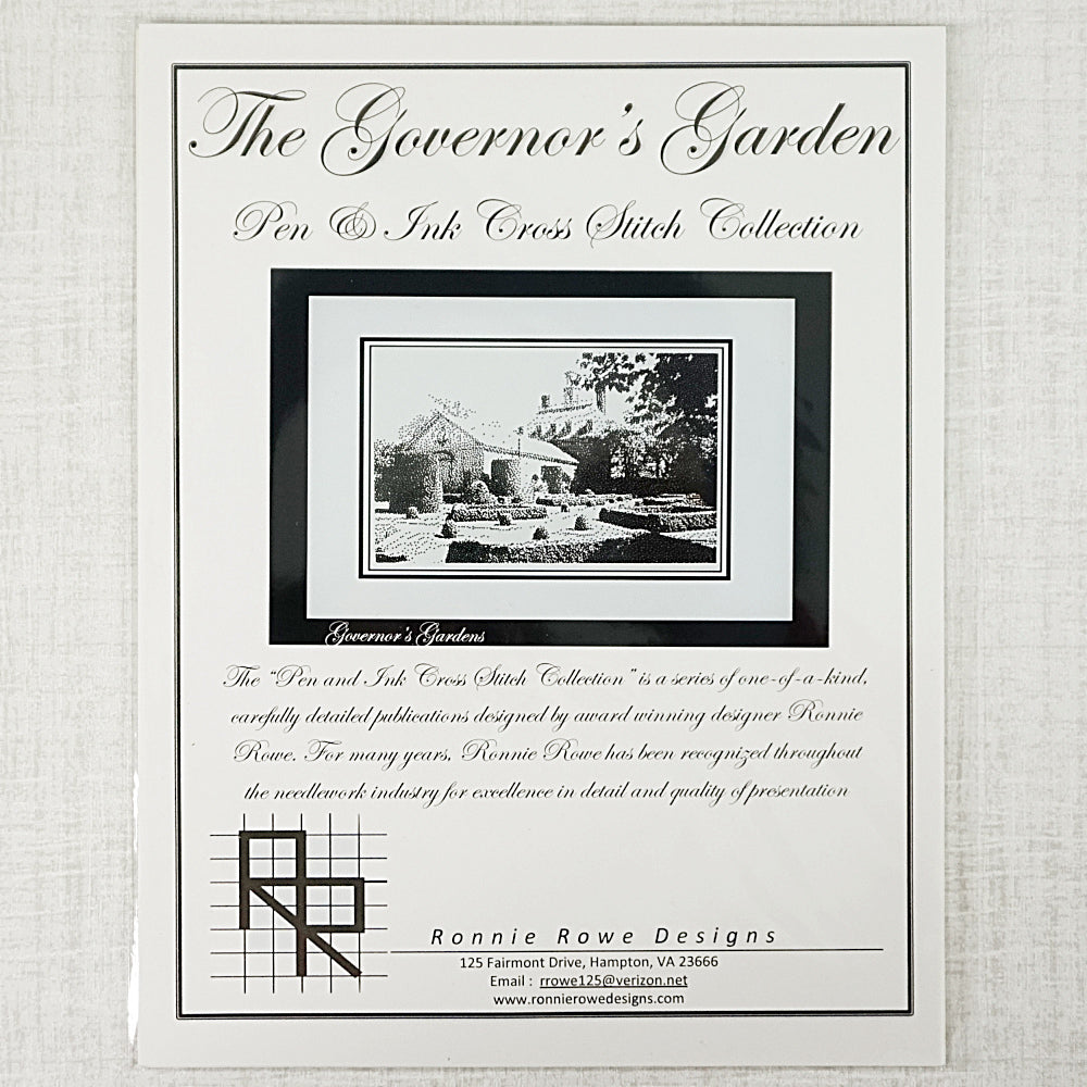 The Governor's Garden by Ronnie Rowe Designs