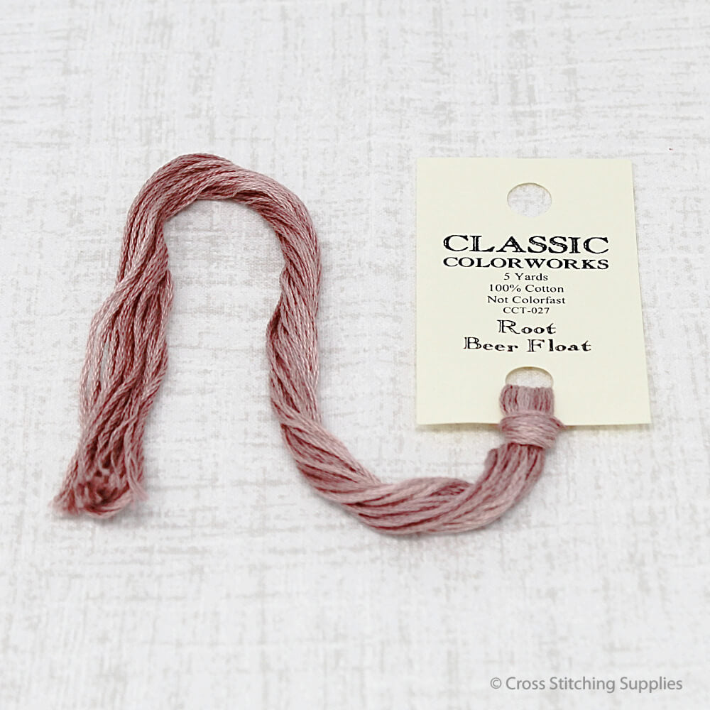 Root Beer Float Classic Colorworks embroidery floss