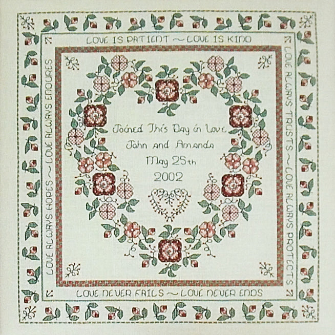 Baltimore Rose Wedding Sampler by Rosewood Manor for sale