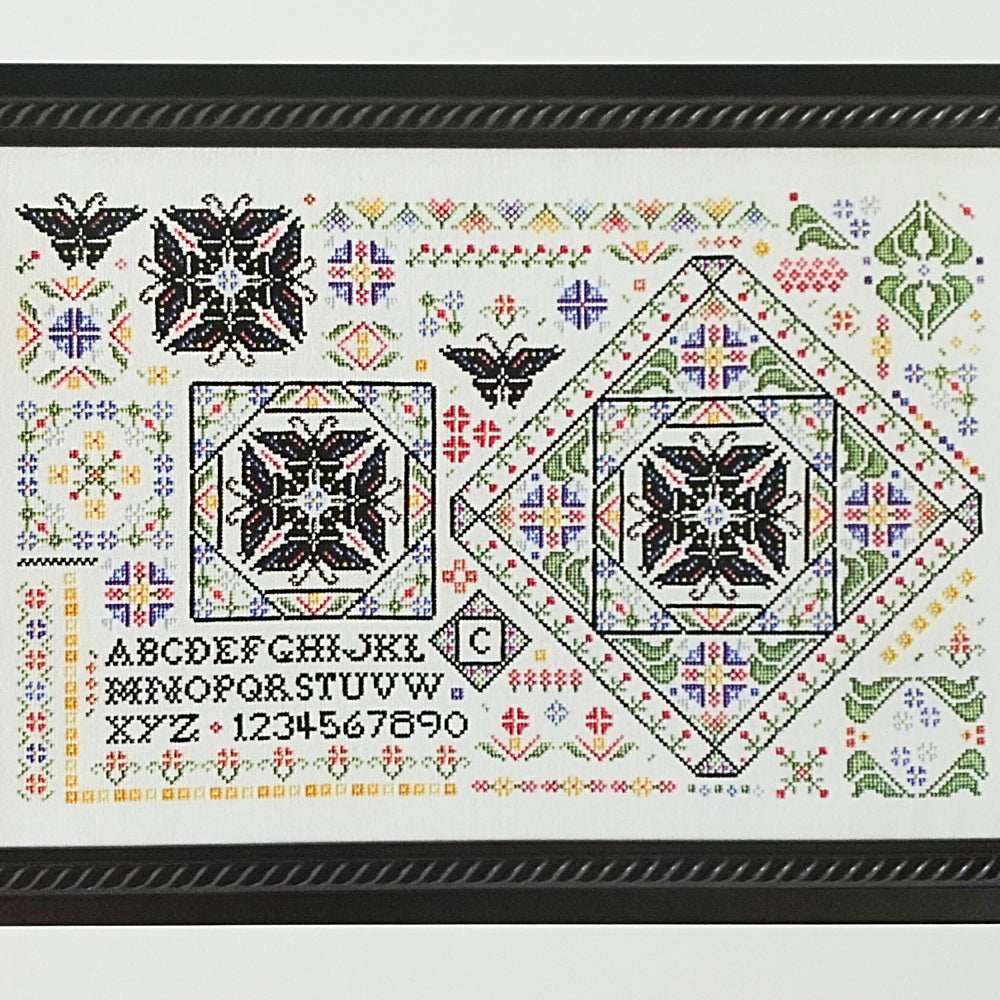 Creation 1 counted cross stitch chart