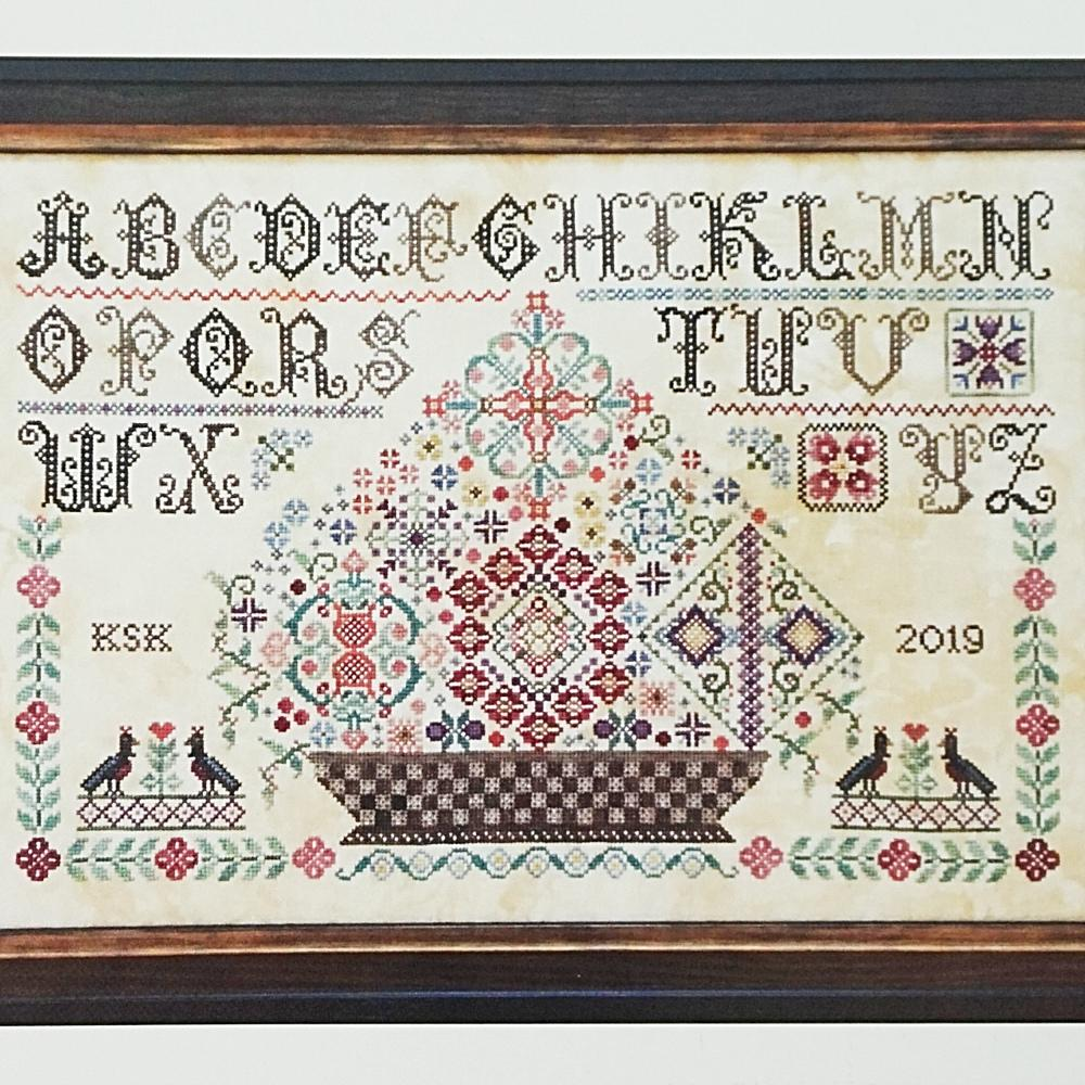 Grayfriar/'s Sampler Rosewood Manor Cross Stitch Pattern