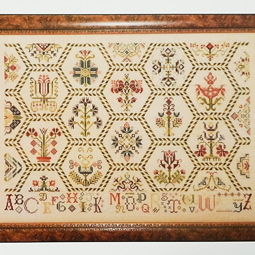 Parchement Tapestry counted cross stitch chart