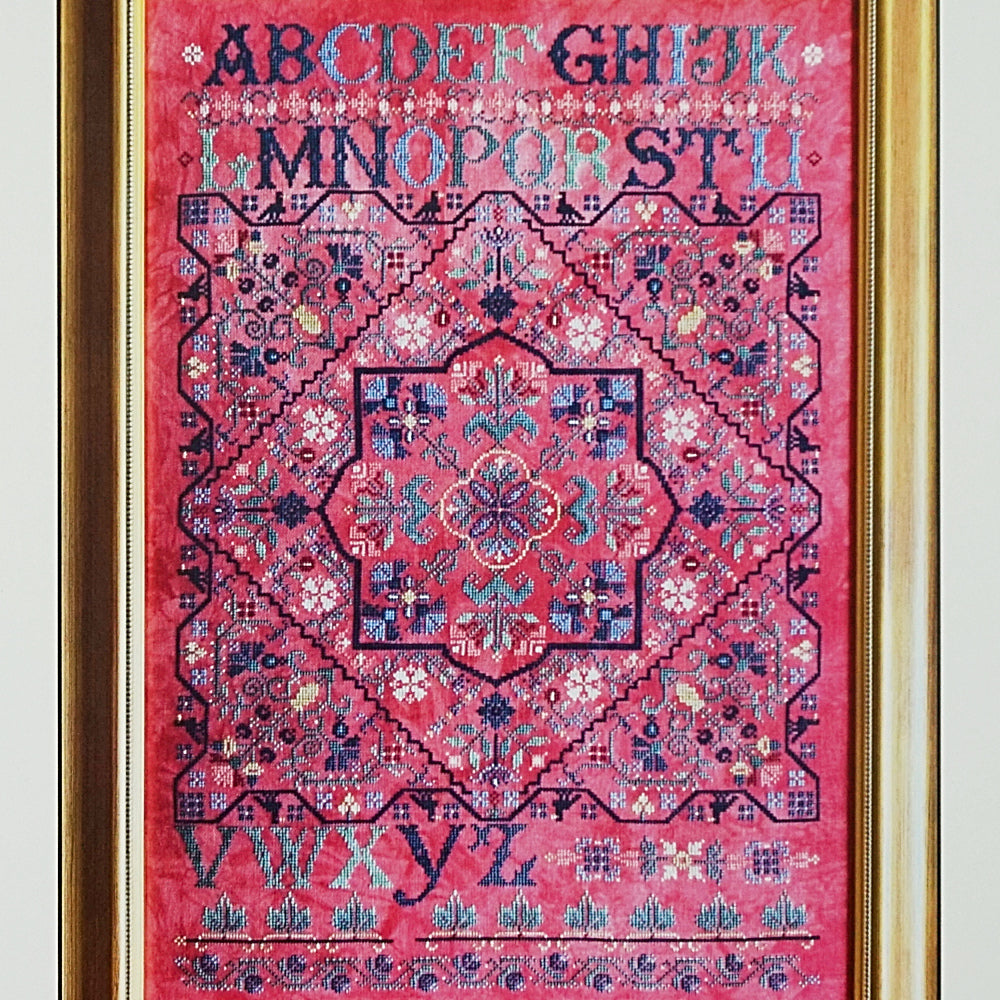 Turkish Delight counted cross stitch chart