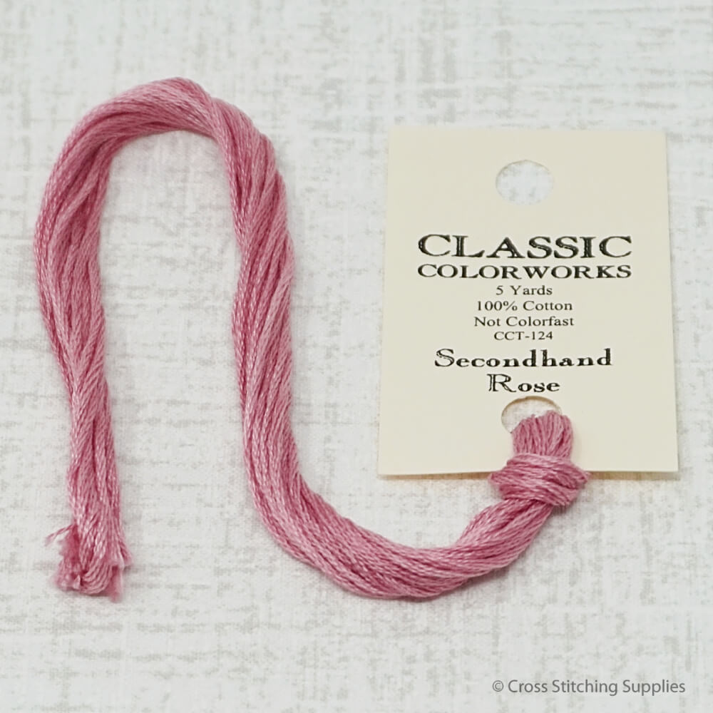 Secondhand Rose Classic Colorworks embroidery floss