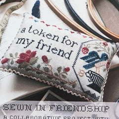 Sewn in Friendship Cross Stitch Pattern | Heartstring Samplery