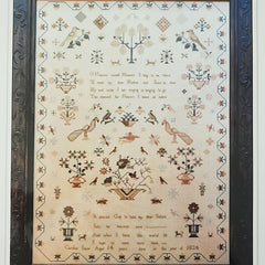 Caroline Sayer 1834: Sweet Heaven Cross Stitch Pattern | Shakespeare's Peddler