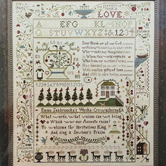 A Saviour's Praise Cross Stitch Pattern | Shakespeare's Peddler