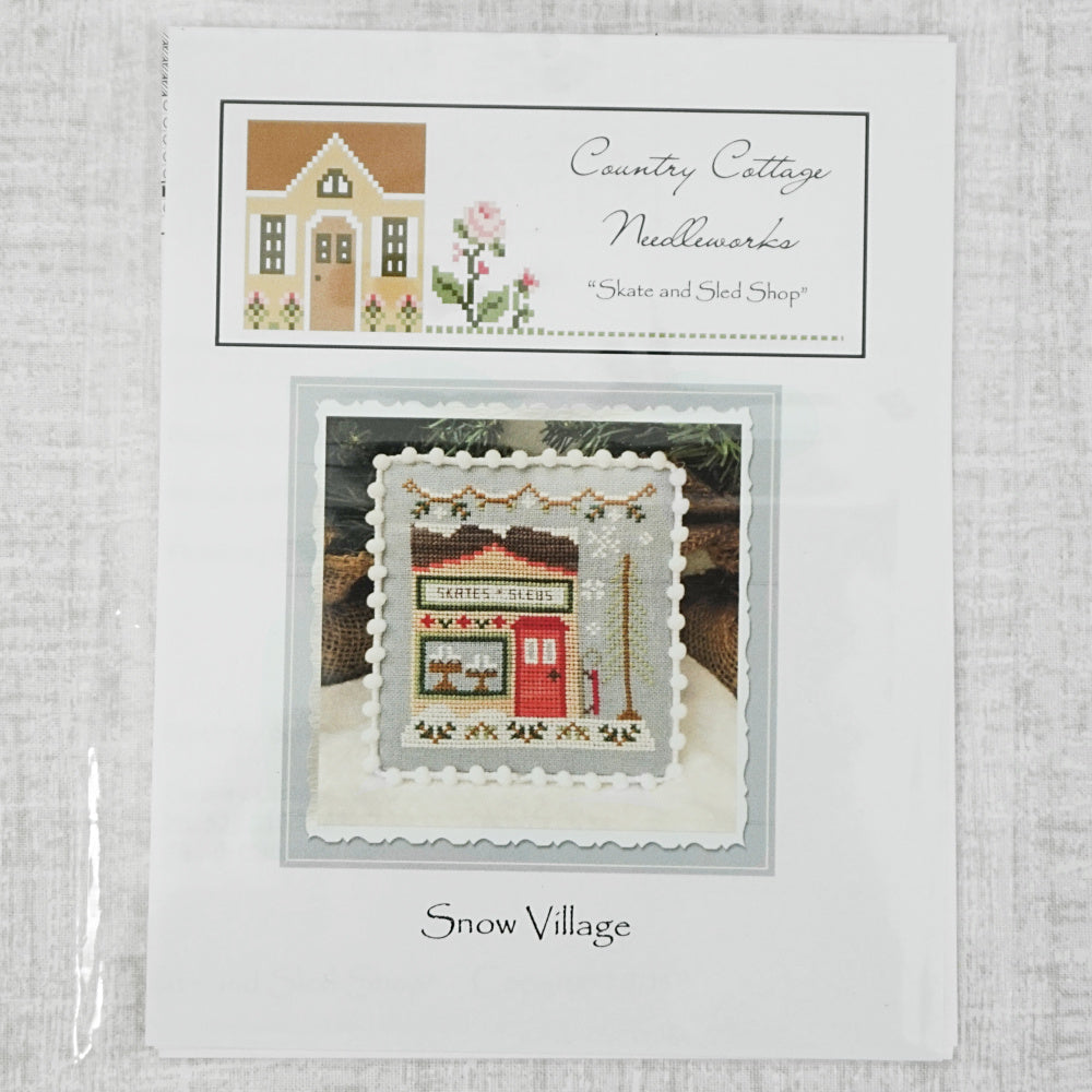Skate and Sled Shop by Country Cottage Needleworks