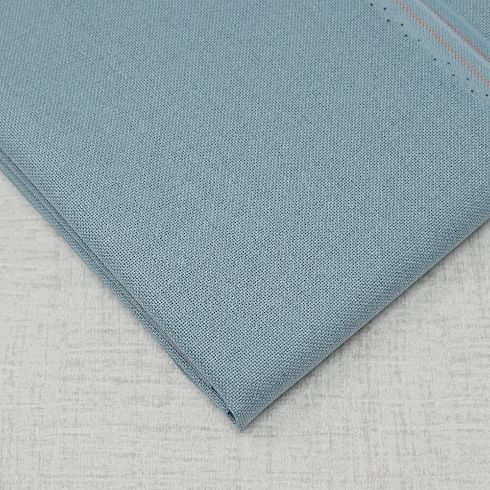 Slate Blue 32 count lugana by Zweigart