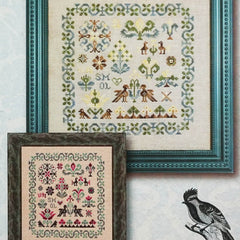Smol Birbs Cross Stitch Pattern | Ink Circles
