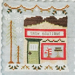 Snow Boutique Cross Stitch Pattern | Country Cottage Needleworks