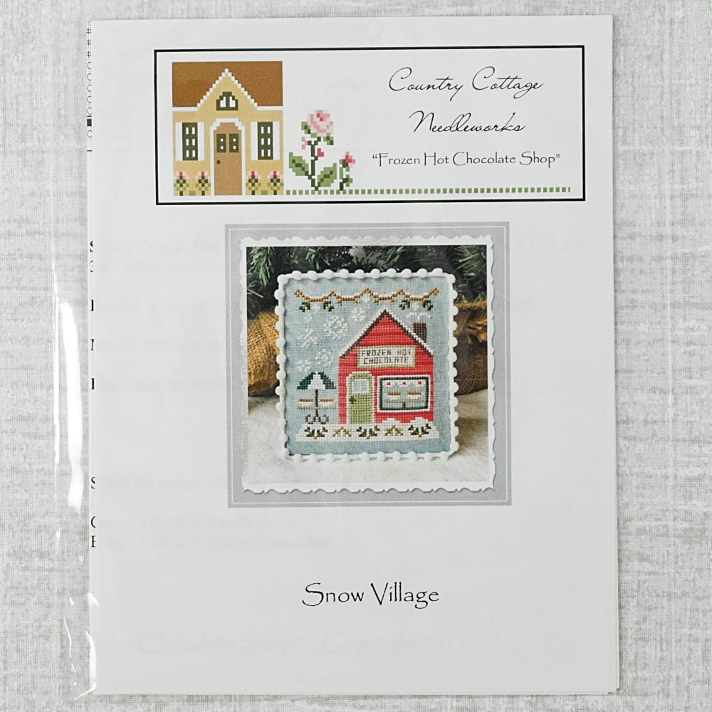 Frozen Hot Chocolate Shop by Country Cottage Needleworks
