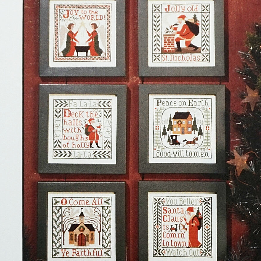 Songs of the Season counted cross stitch patterns
