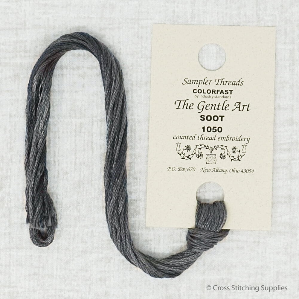 Soot The Gentle Art embroidery thread
