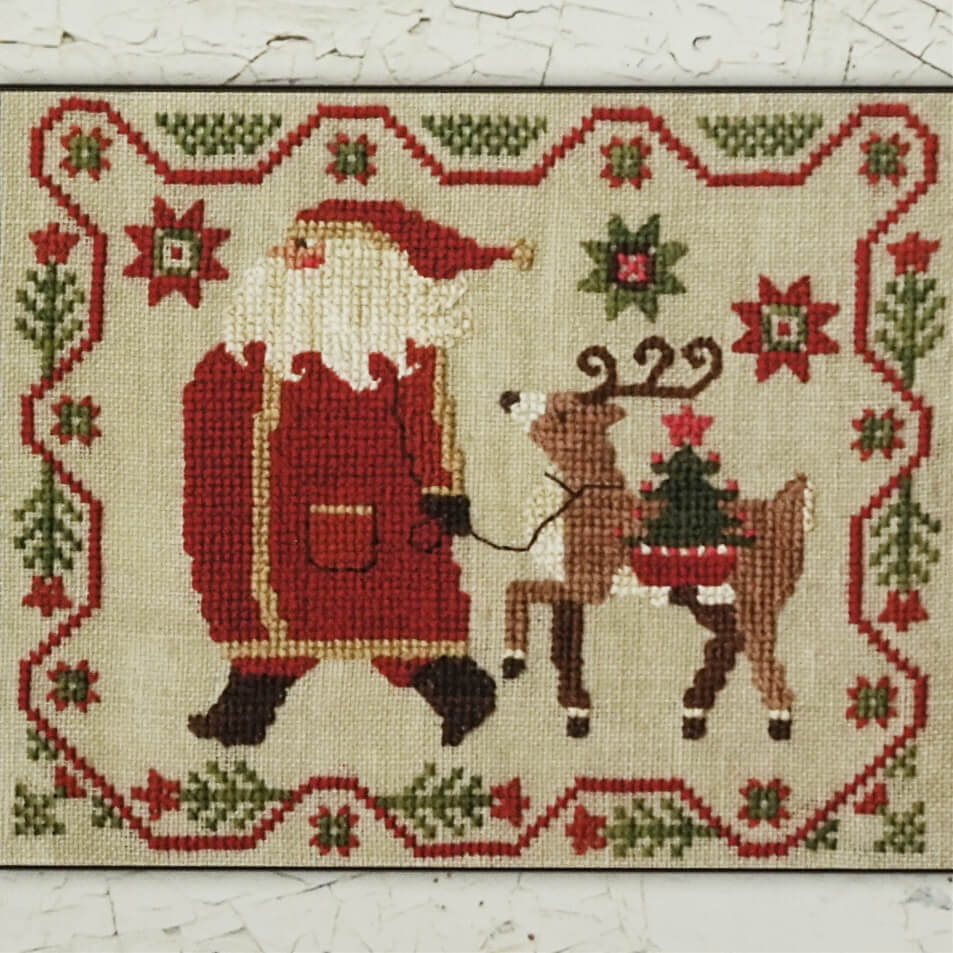 Struttin' counted cross stitch pattern