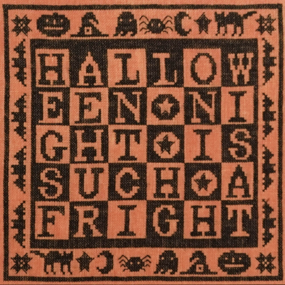 Such a Fright counted cross stitch pattern