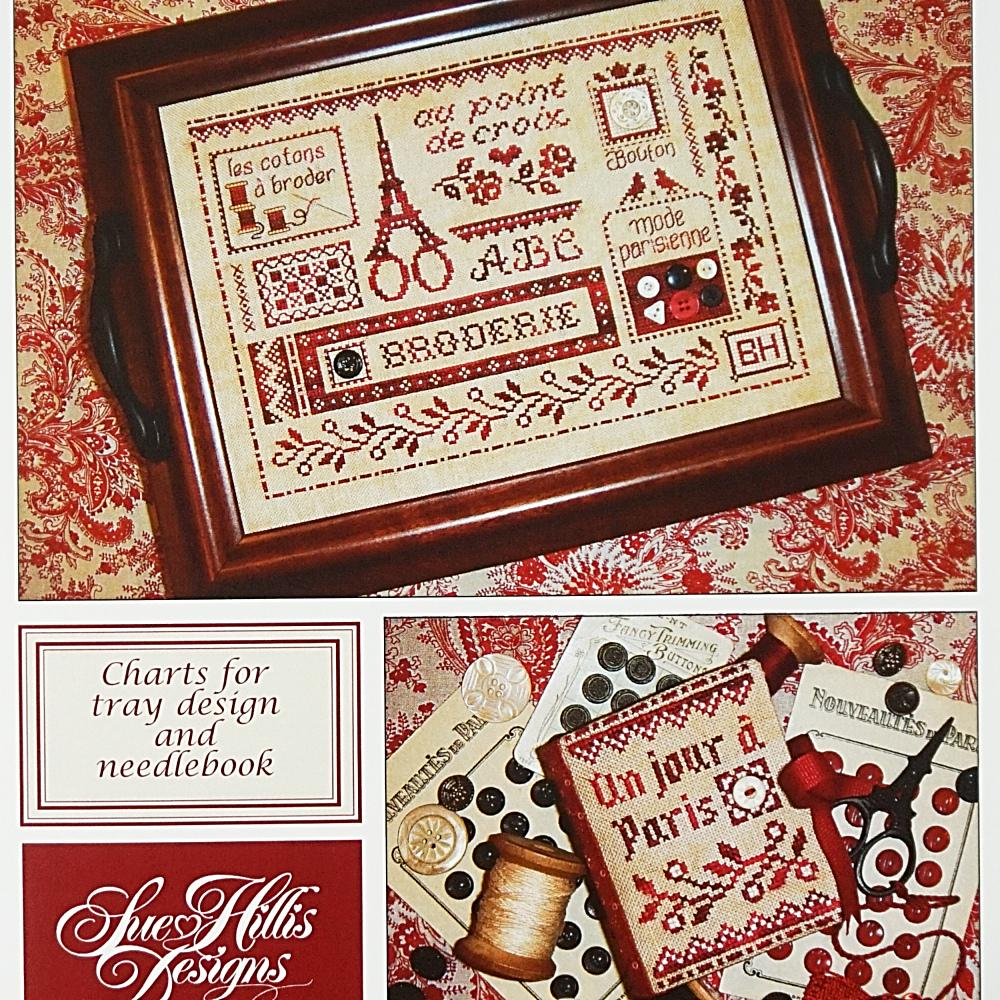Broderie a Paris counted cross stitch pattern