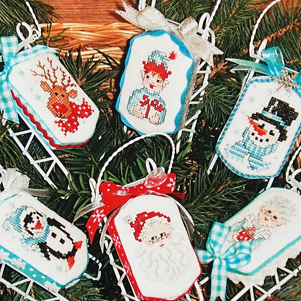 Christmas Friends counted cross stitch chart