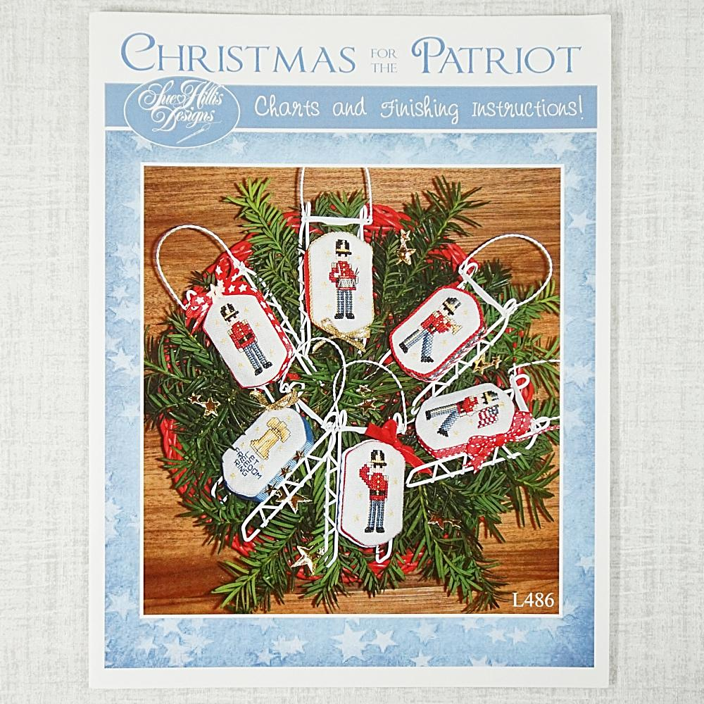 Christmas for the Patriot by Sue Hillis Designs for sale