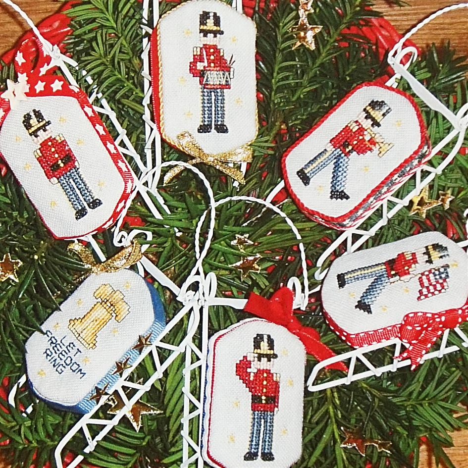 Christmas for the Patriot counted cross stitch chart