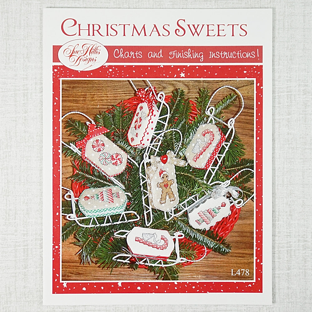 Christmas Sweets counted cross stitch chart