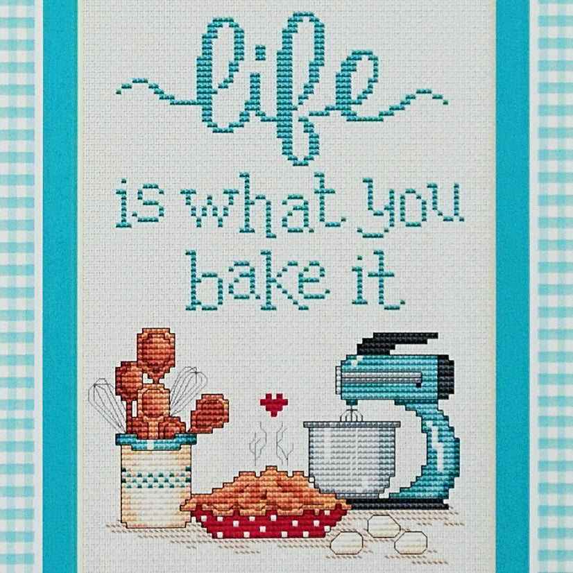 Life counted cross stitch chart